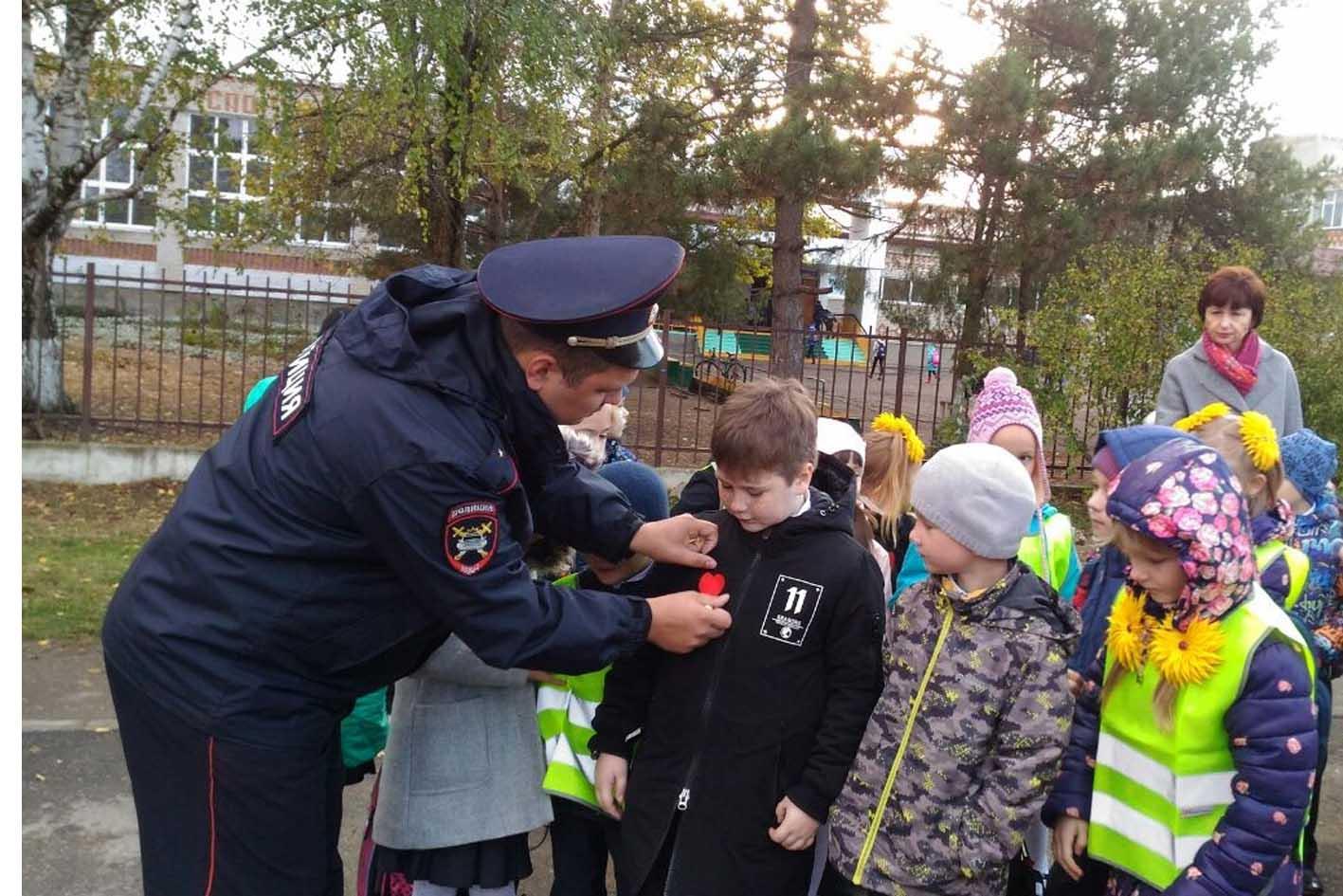Дети побывали в «рейде» с полицейскими
