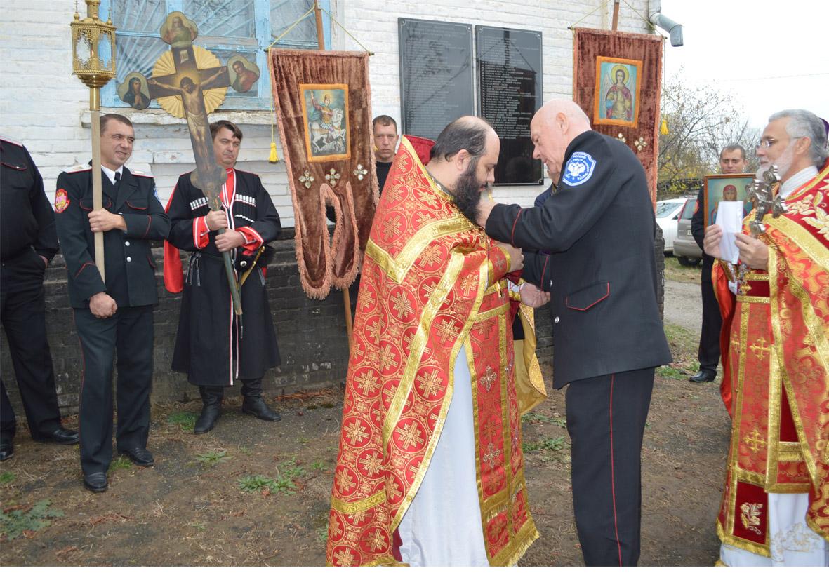 Храм в станице Мингрельской отметил престольный праздник
