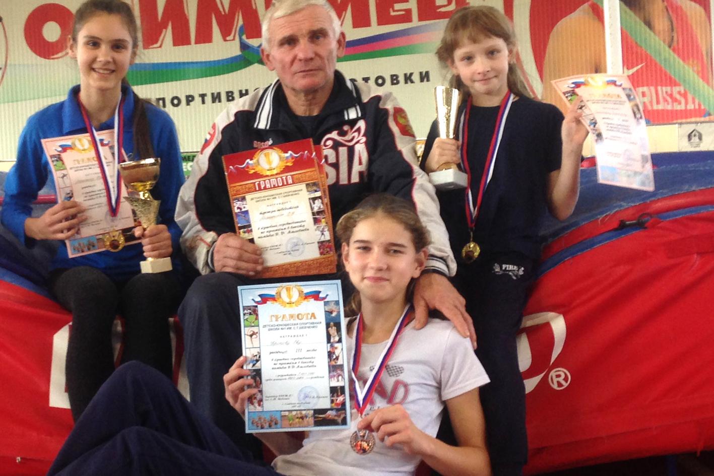 Абинские спортсменки победили в краевых соревнованиях