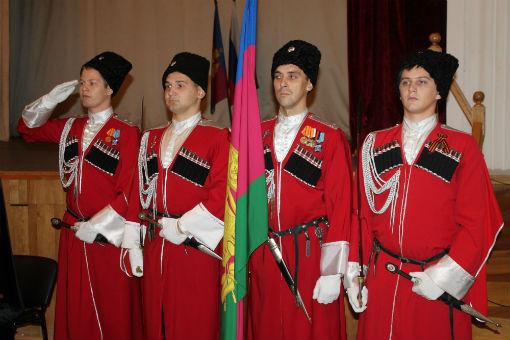 В Абинском районном казачьем обществе выбрали атамана