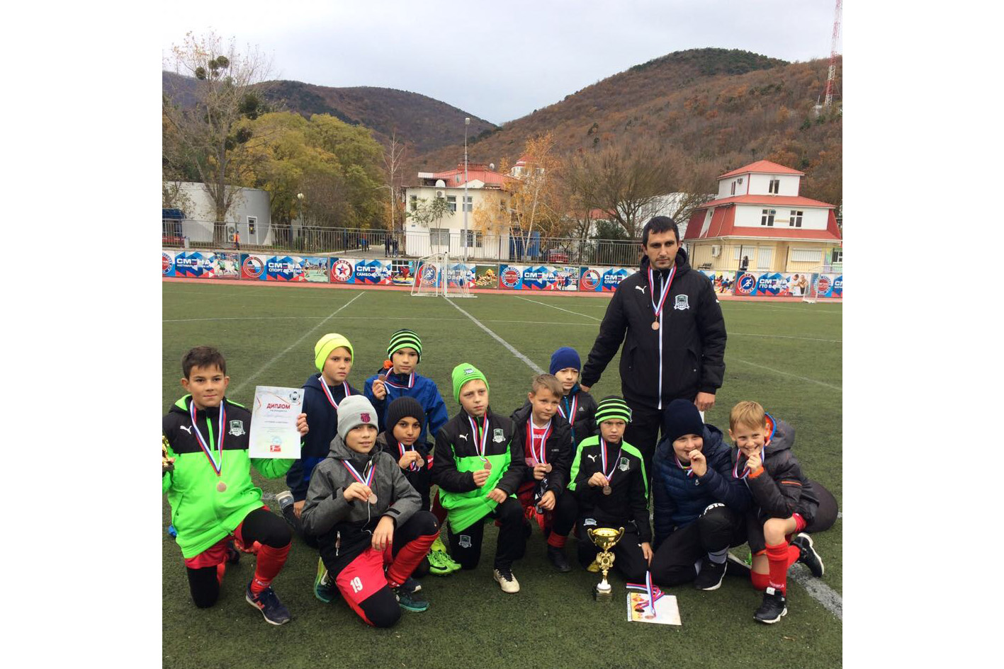 Абинские футболисты заняли третье место во Всероссийском турнире