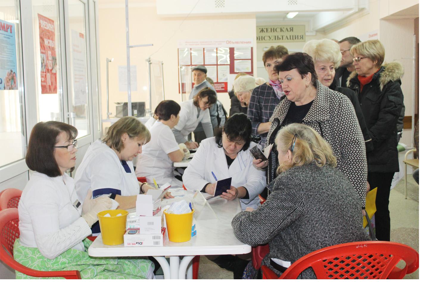 В Абинской поликлинике краевые врачи вели прием