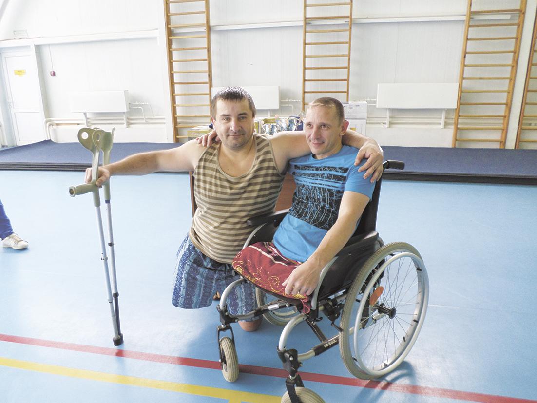 Команда из Абинского района приняла участие в спартакиаде инвалидов Кубани