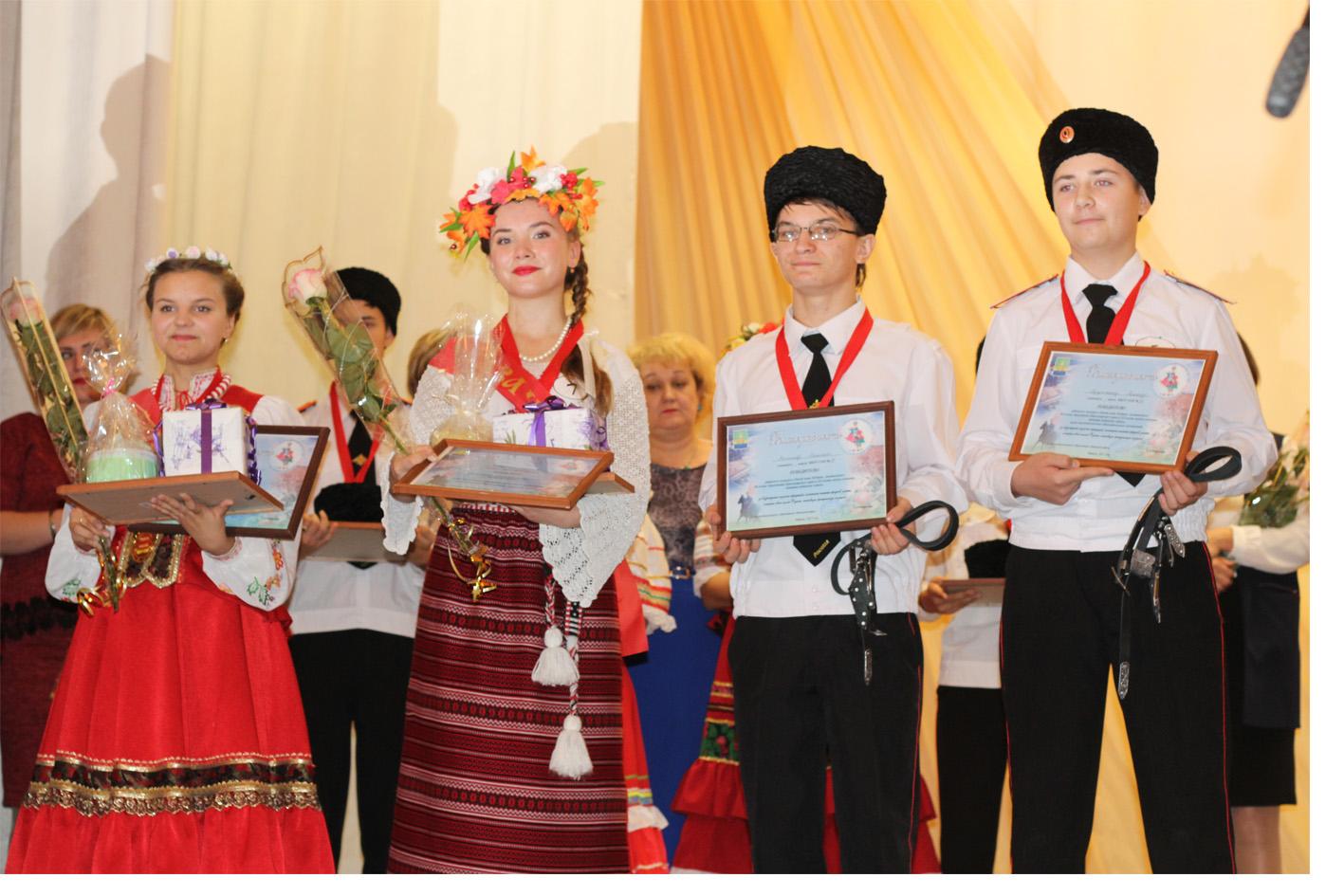 В Абинске выбрали лихого казака и лучшую казачку Кубани