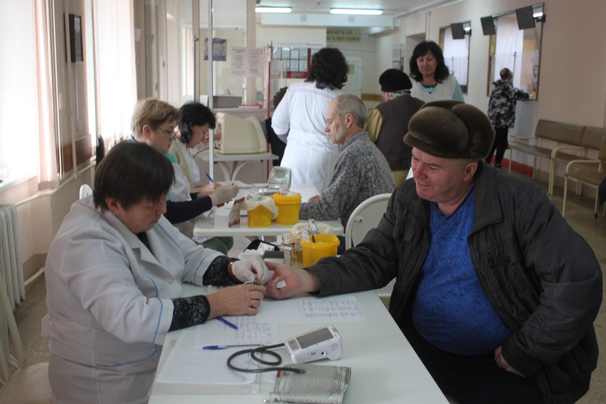 В Абинской центральной районной больнице состоялся День здоровья