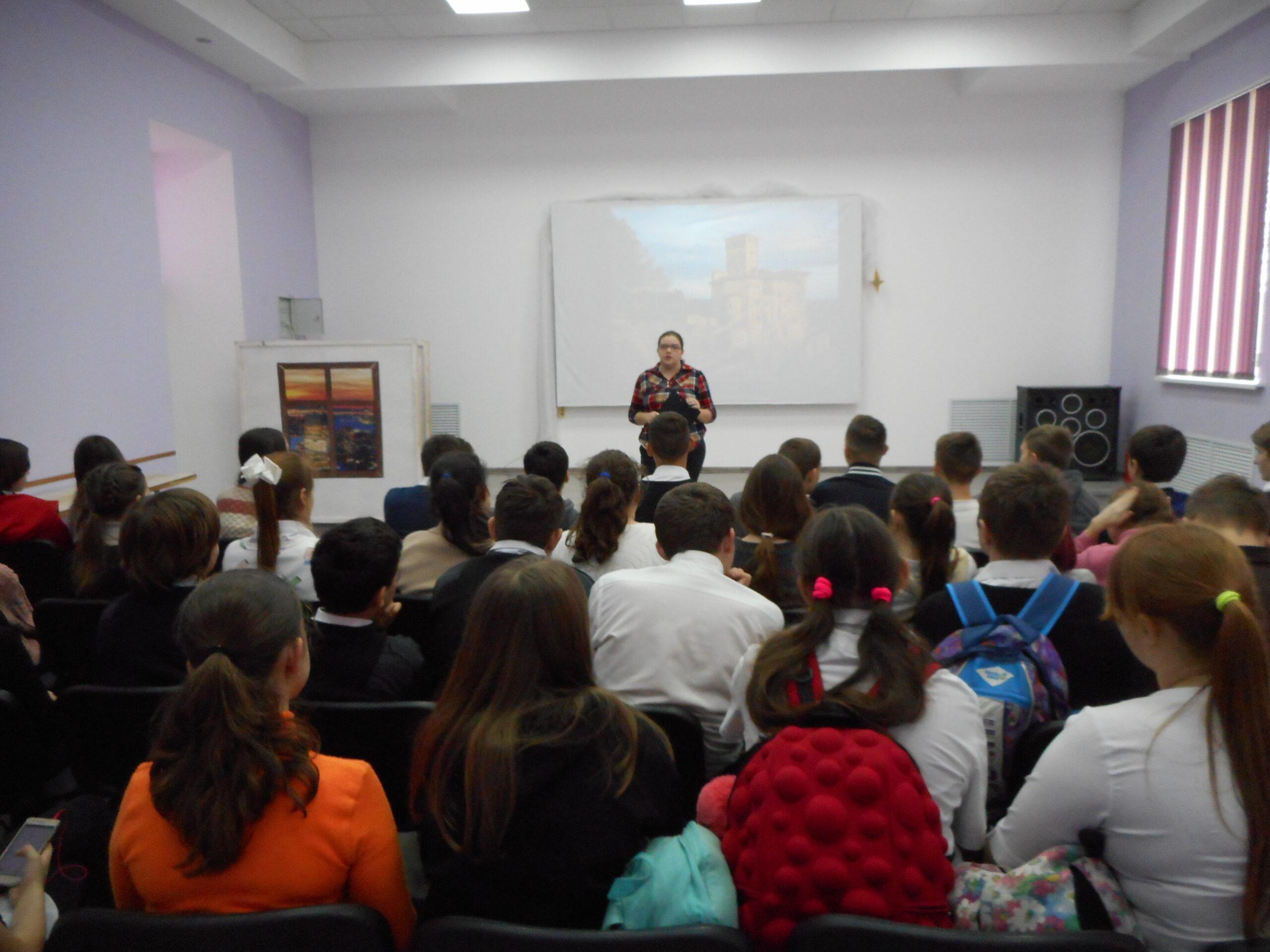 Ахтырские старшеклассники обсудили, как не попасть в сети вредных привычек