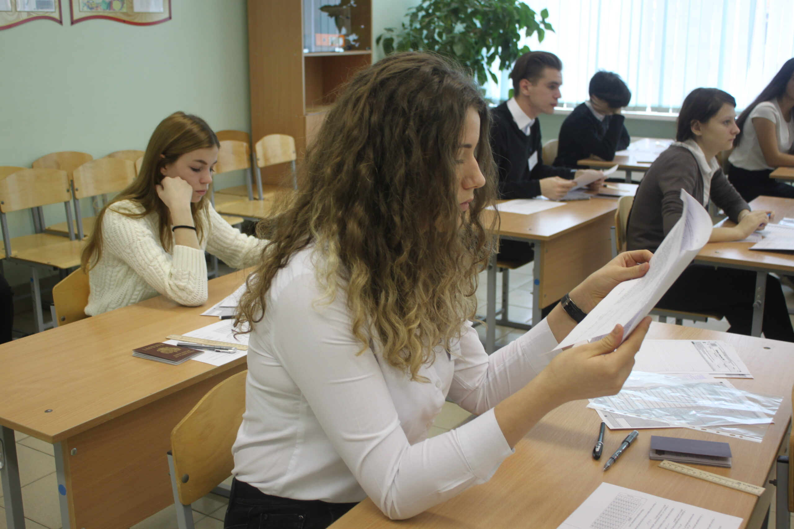 Для девятиклассников образовательных учреждений Абинского района состоялась «экзаменационная репетиция»
