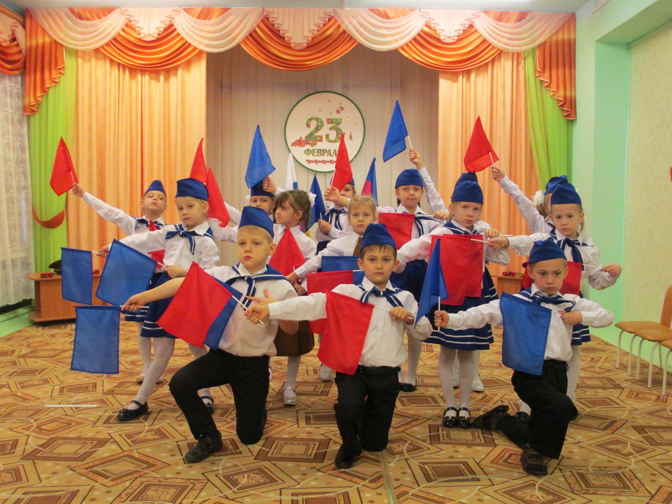 В детском саду №28 ст. Федоровской прошло торжественное открытие месячника оборонно-массовой и военно-патриотической работы