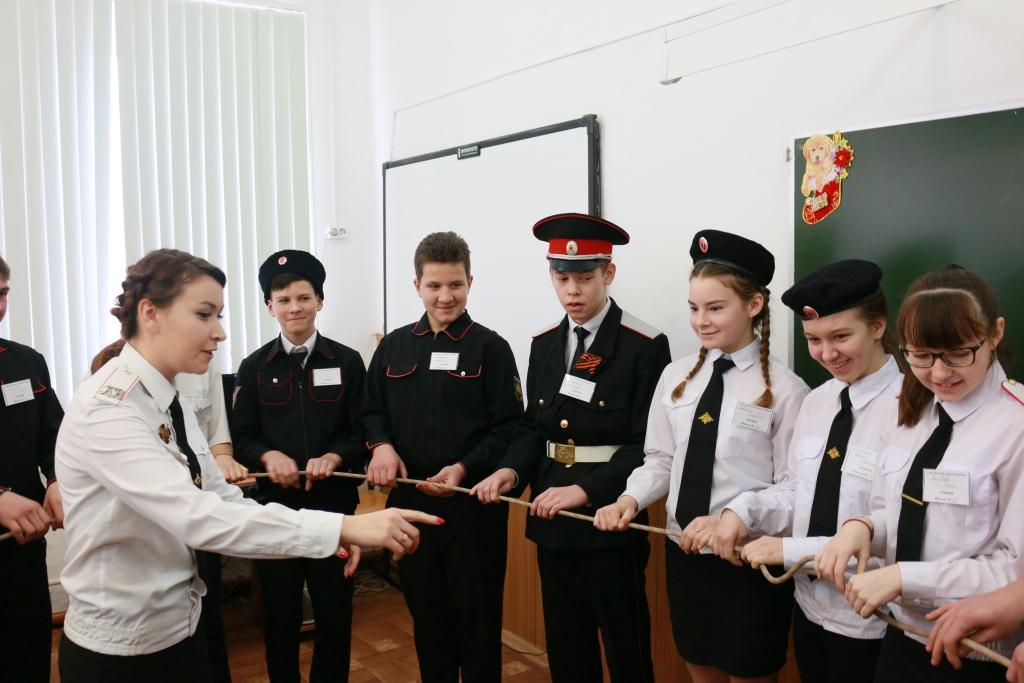 В Холмской учили атаманов школ района