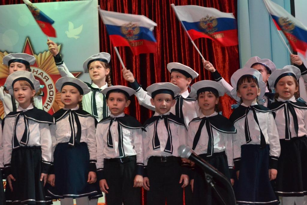 В абинской школе подвели итоги месячника военно-патриотической работы