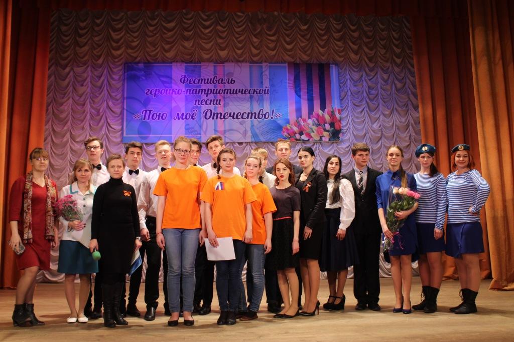 Муниципальный этап районного фестиваля «Пою моё Отечество» прошел в поселке Ахтырском