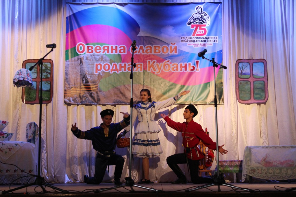В станице Холмской прошел этап районного фестиваля «Казачества традиции храним»