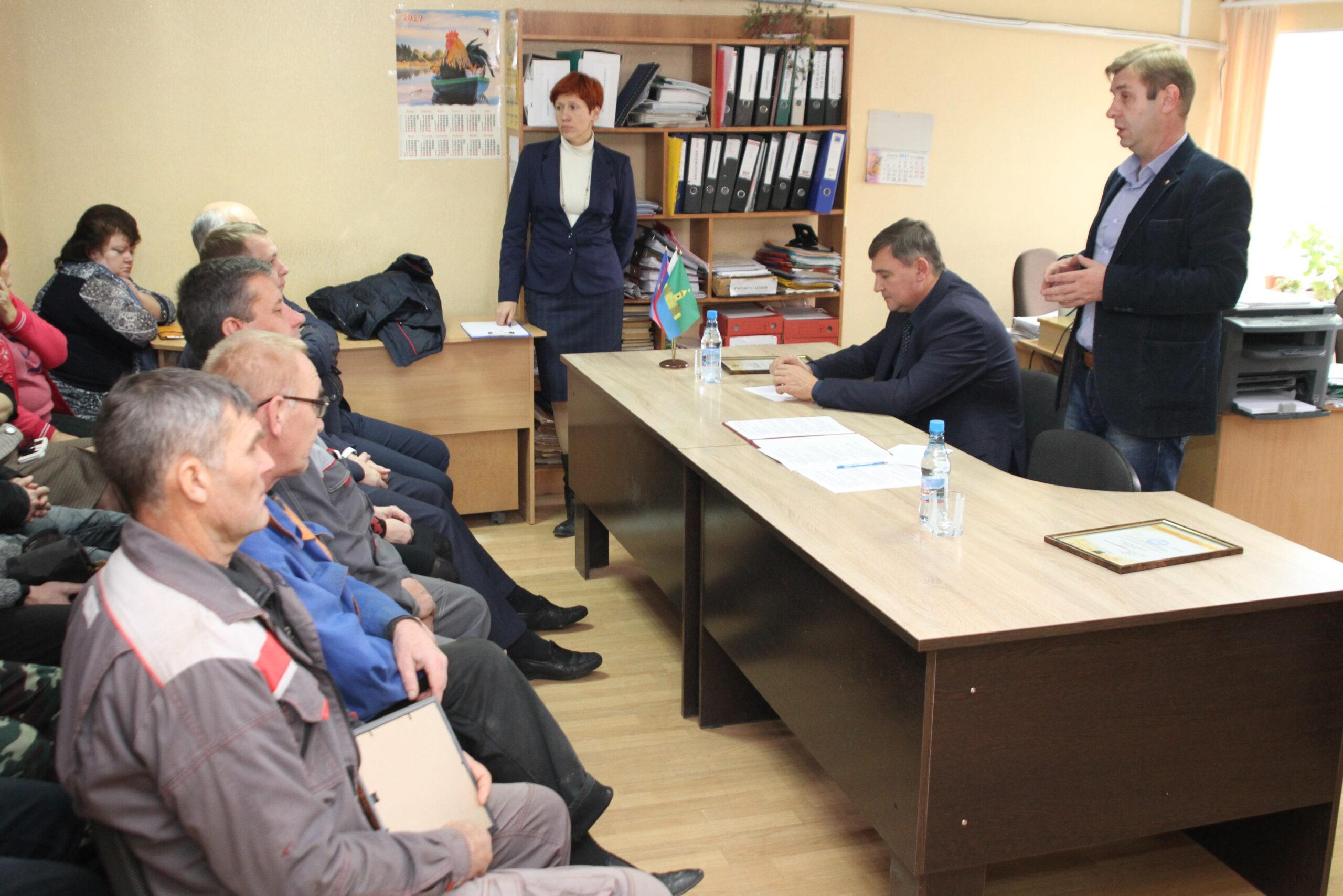 Глава Абинского района проводит встречи с трудовыми коллективами