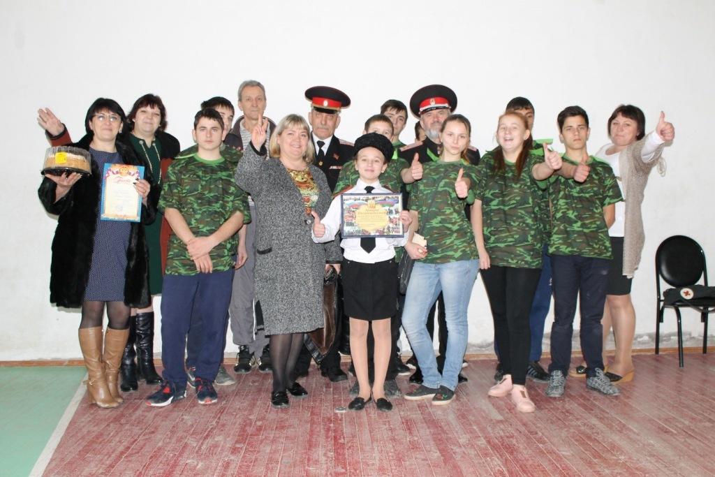 Абинские казаки приняли участие в параде Кубанского казачьего войска