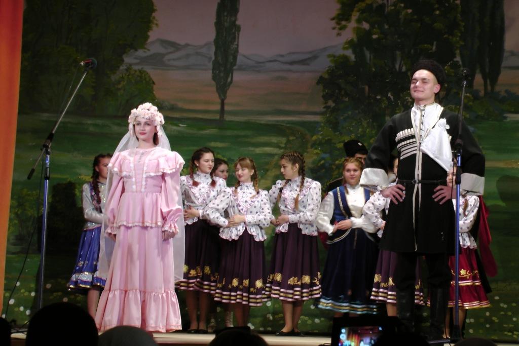 В Абинском районе проходит фестиваль «Казачества традиции храним»