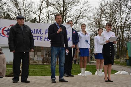 Строить будущее будем вместе с Крымом