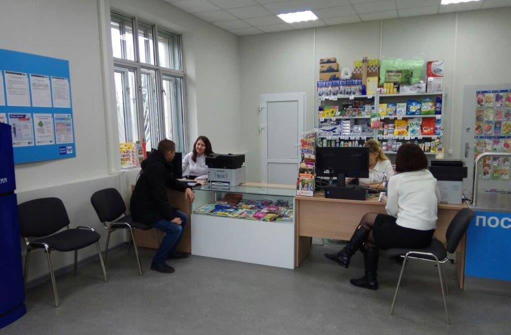 Почта России открыла после ремонта отделение в поселке Таманском