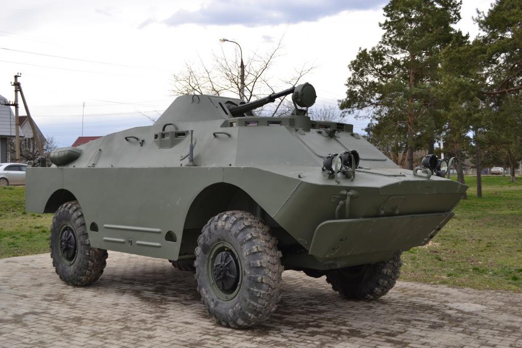 В Абинске установили бронеавтомобиль