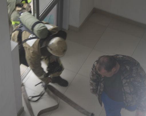 Внимание, пожарная тревога! В Абинске прошли тренировочные учения