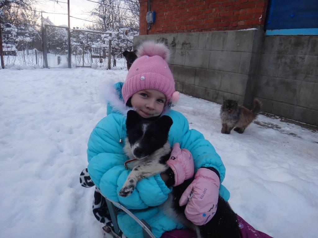 Участница конкурса «Дай лапу, друг!» Есения Котова, 10 лет, из Абинска