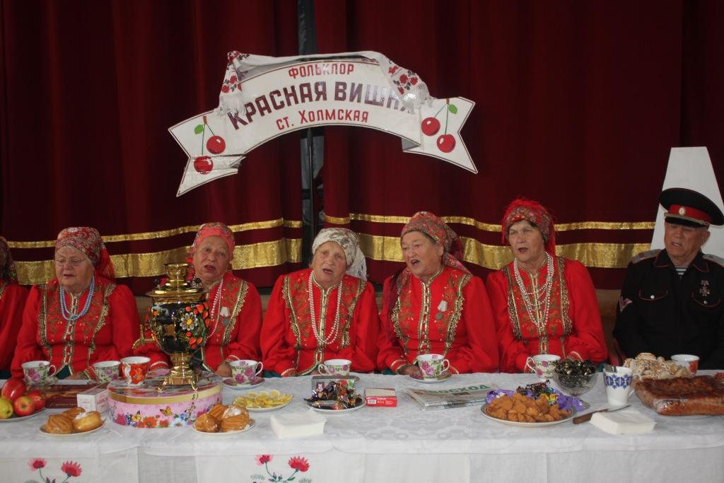 Коллектив казачьей песни из станицы Холмской отметил юбилей
