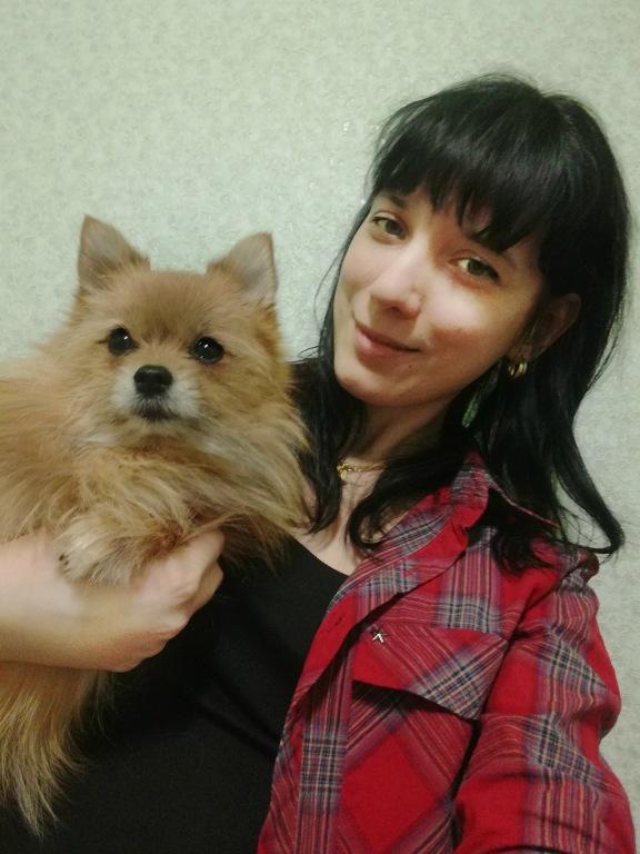 В конкурс «Дай лапу, друг!» участвует Дарья Ерохина