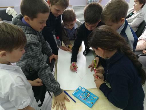 Ахтырские школьники «изобретали» звездолеты