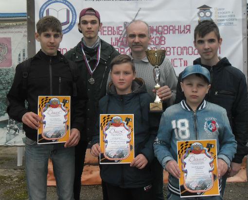 Ахтырские школьники стали призерами краевых соревнований по радиоуправляемым автомоделям