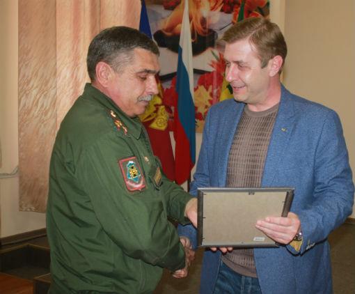 В администрации Абинского района чествовали работников военного комиссариата Абинского и Северского районов