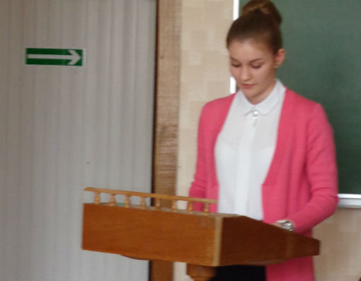 Старшеклассница из ст. Холмской успешно выступила на XII региональной олимпиаде обучающихся
