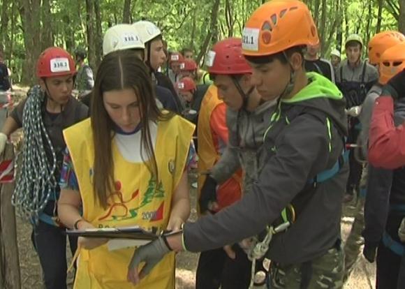 Всекубанская спартакиада по спортивному туризму прошла в Абинском районе