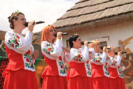 Курень Абинского района в этнографической станице «Атамань» встретил гостей