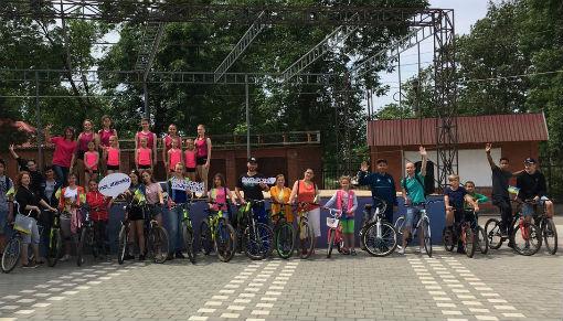 Ахтырчане стали участниками большого велопарада