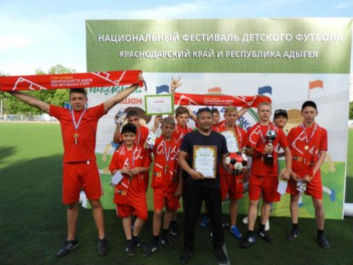 Абинские «Русичи» стали чемпионами турнира по мини-футболу ЮФО