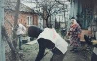Накануне Дня Победы волонтеры из ст. Холмской провели социально-патриотическую акцию «Ветеран рядом»