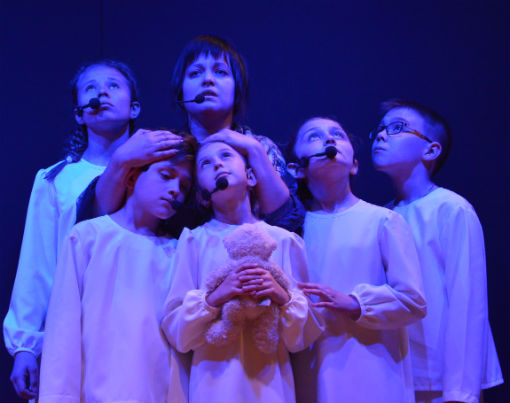 Холмская ДШИ представила театрализованную постановку, посвящённую 75-летию освобождения Краснодарского края от немецко-фашистских захватчиков