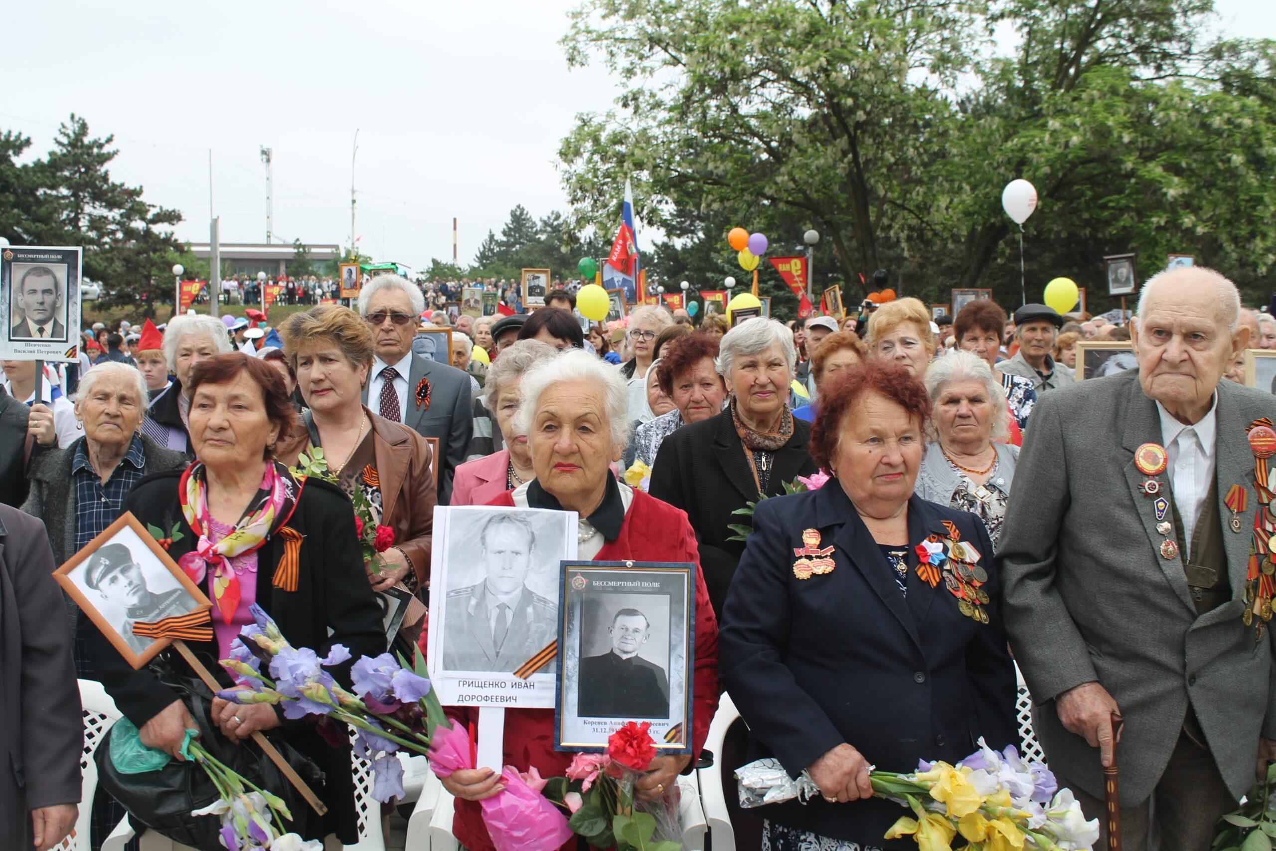 «Бессмертный полк» промаршировал по главной улице Абинска