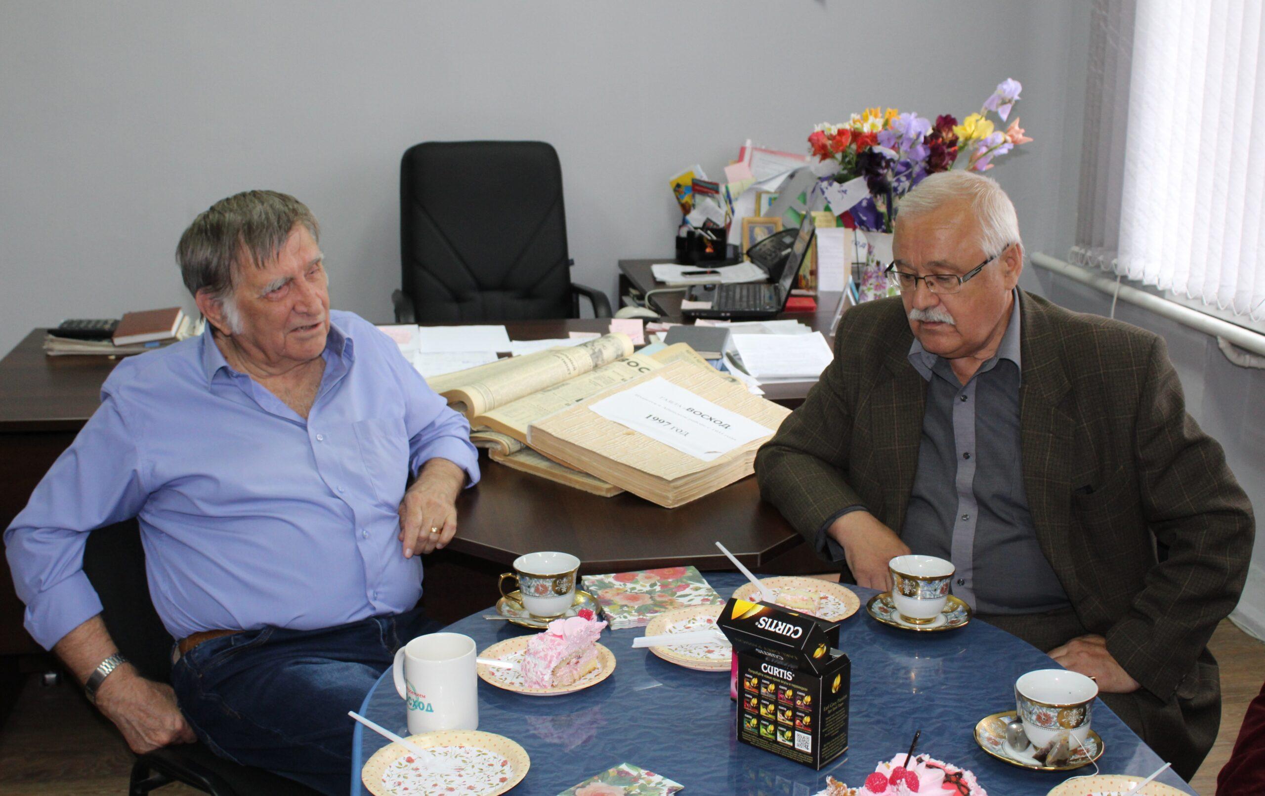 Газета «Восход» пригласила в гости ветеранов журналистики