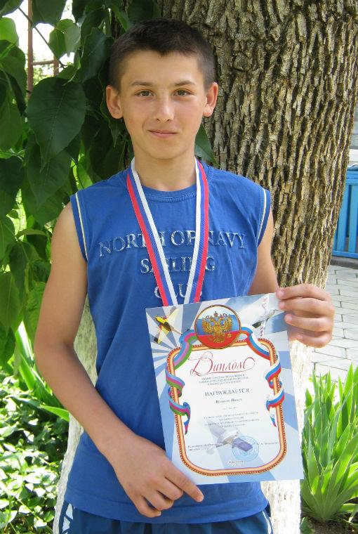 Юный авиамоделист из Абинского района стал серебряным призером краевого фестиваля