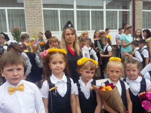 В Абинском районе полицейские провели марафон детской дорожной безопасности