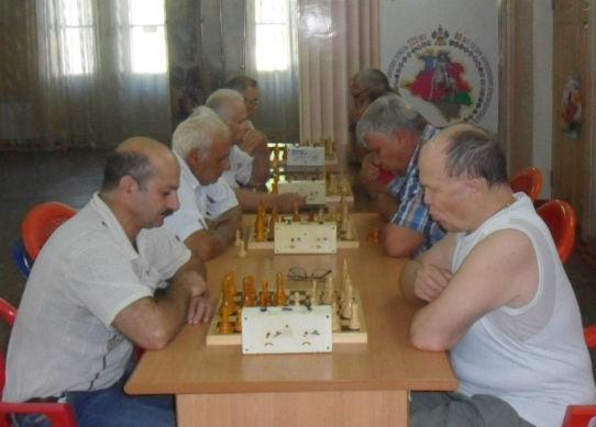 В Абинске прошло первенство района по шахматам