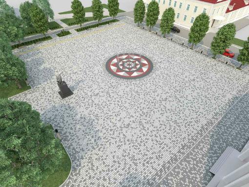 В городе Абинске торжественно открыли сквер