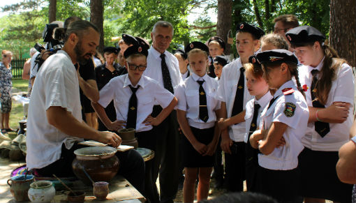 В Абинском районе открылся «Казачий рубеж»