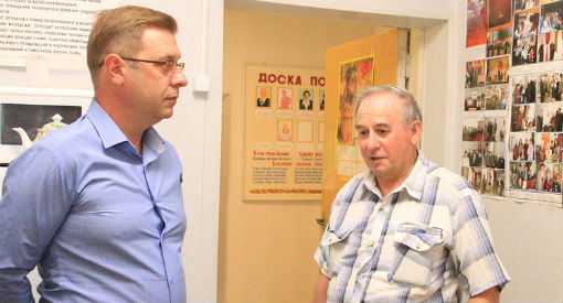 Глава Абинского района встретился с ветеранами