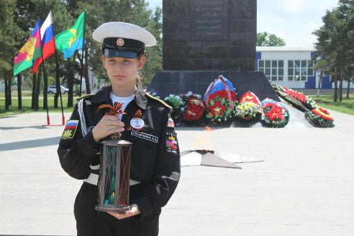 В Абинске состоялась торжественная церемония передачи Свечи памяти