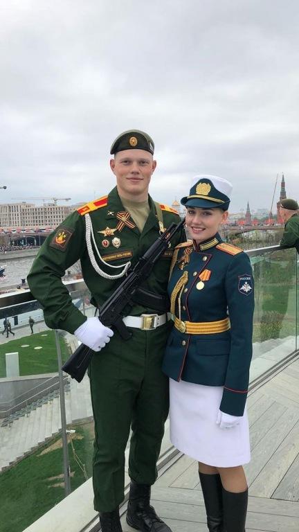 Абинчане приняли участие в военном параде в Москве