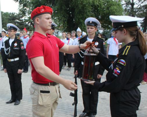 Абинский район принял участие в краевой патриотической акции «Эстафета памяти»