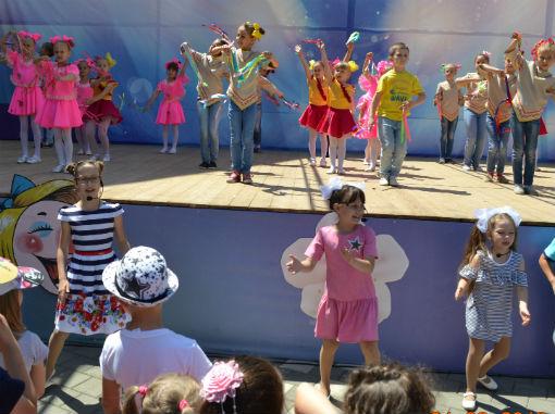 Около трехсот ребятишек собралось на празднике детства в пос. Ахтырском