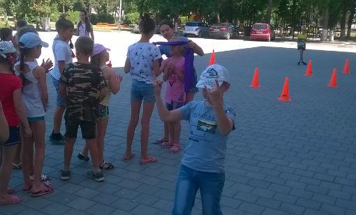 Ахтырская детвора путешествовала по стране Игралия
