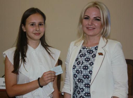Депутат ЗСК встретилась с молодежью Абинского района